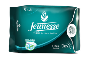 Jeunesse Ultra Absorbent Day Pad 8's
