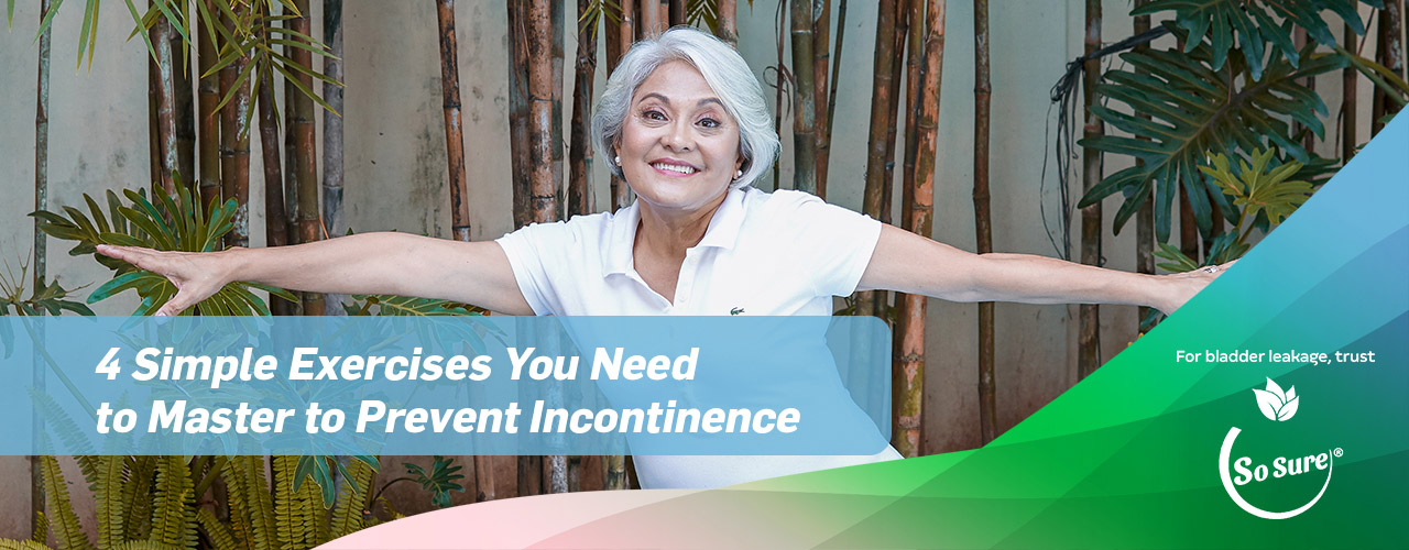 4 Simple Exercised You need to prevent incontinence
